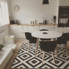 Our sweet little Airbnb apartment in Reykjavik