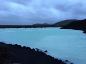 Silica waters in the Blue Lagoon