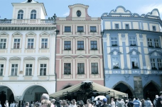 Pastel colours of Old Town Square