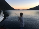 Fishing up Indian Arm